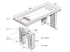 2.1 Build This Beautiful Concrete Bench