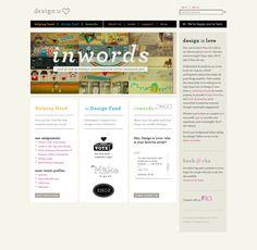 Layout love. #web #design