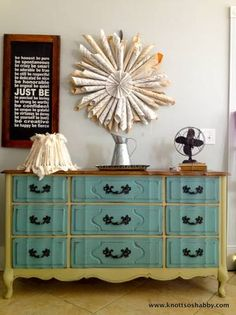 paint our dresser this way?!