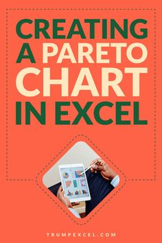 Pareto chart is quite commonly used in business presentations. It's based on the 80/20 rule where you focus on 20% of the issues to get 80% of the impact.    In this tutorial I'll show you how to create a pareto chart in Excel (Static as well as Dynamic)    #Excel #ExcelTips #MSExcel #ParetoChart Pareto Rule, Excel For Beginners, Excel Hacks, Pivot Table, Charts And Graphs, Microsoft Excel, Business Presentation, Coding, Technology