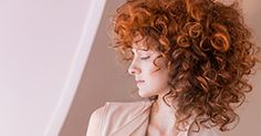 Color trend look for curly hair: Wella Rich Copper Ecaille by Couture Color