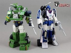 Hound and Mirage Transformers Masterpiece, Transformers Action Figures, Transformers Autobots, Transformers Toys, Cool Toys, Awesome Toys, Super Robot, Third Party, Pilots
