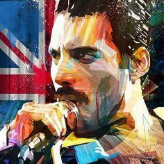 Freddie Mercury-Queen.........