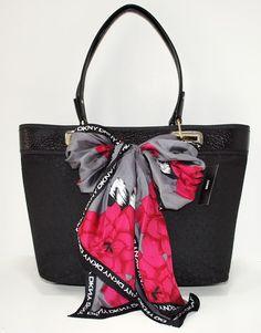 Image detail for -PURSE BLACK BAG HANDBAG · DKNY T W/D Hardware Business Travel Bag ...