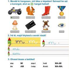 FELADATLAPOK A BETŰTANULÁSHOZ, ÖSSZEOLVASÁSHOZ - webtanitoneni.lapunk.hu Petra, Worksheets, Map, Album, Kid Games, Creative, Location Map, Literacy Centers, Maps