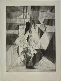 The Equilibrist (L'Equilibriste), 1913, Jacques Villon