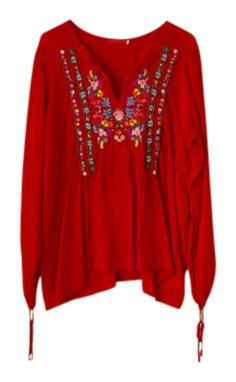 Johnny Was Clothing floral Tunic