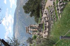 Delphi, Greece Sanctuary of Athena