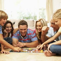Having a family night, playing board games, bring us together. #KHTogether