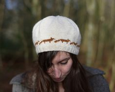 Ravelry: Thought-Foxes Hat pattern by Natasha Mihailovic
