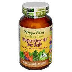 Megafood, Women Over 40 One Daily, 90 Tablets, Diet Suplements -ST