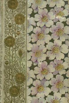 Vintage Floral book cover