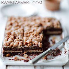 Brownie karmelowe