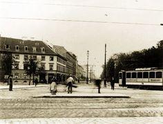 Zur gleichen Zeit enstanden ist dieses Foto der Lindwurmstraße am Sendlinger-Tor-Platz. Foto: Volk Verlag/Stadtarchiv München