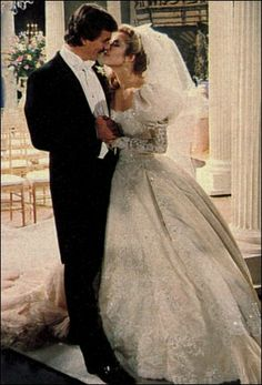 Victor and Nicki's wedding, Young and the Restless, 1980s.