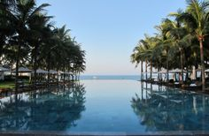 The Infinity Pool at the Nam Hai in Hoi An