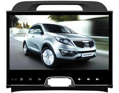 """Deckless Quad Core 10.1"""" Android 6.0 Car DVD Player for kia sportage R 2011-2015 gps RADIO 3G stereo head units tape recorder"""