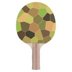 Cool Unique Pattern Ping Pong Paddle - pattern sample design template diy cyo customize