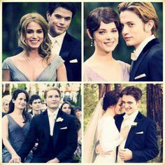 At the wedding. Breaking Dawn Part 1