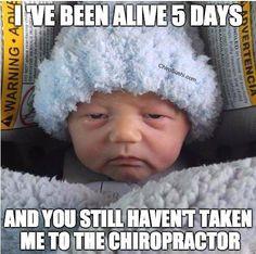 Chiropractic humor                                                                                                                                                                                 More