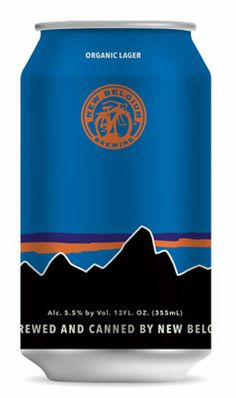 California Route Organic Lager by Patagonia + New Belgium