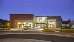 Moses Lake Civic Center from Balsam Street. Photo, Chi Krneta, Miller Hull.