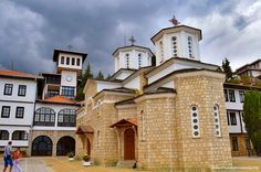 Kalishta Monastery (Манастир Калишта) near Struga - Macedonia Travel Guide