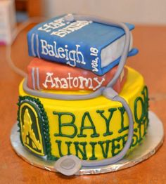 Cute #Baylor cake! (via vickiwest4west on Twitter) #SicEm