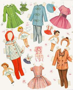 Miss Missy Paper Dolls: whitman