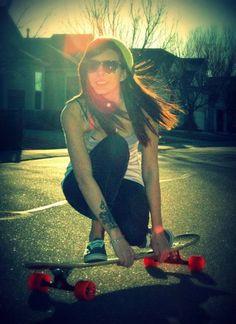 i wish i could look this cool when im longboarding haha, maybe with a little more practice
