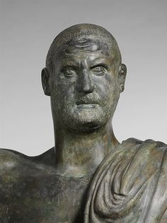Image result for trebonianus gallus statue
