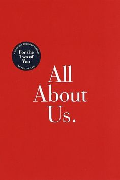 All About Us by Philipp Keel | 18 Journals That Will Get Your Creative Juices Flowing
