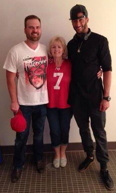 Colin Kaepernick and Family