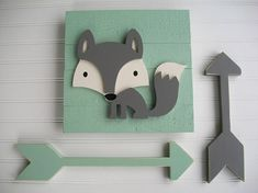 This wood fox sign makes the perfect addition to any nursery or big girl room . These signs make a g