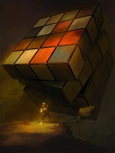 Rubik's Revenge by bopchara.deviantART.com