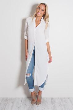 white shirt dress - Google Search
