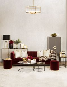 17 best red velvet sofa images red sofa lounges armchair rh pinterest com