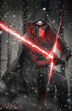 Kylo Ren by zachraw on DeviantArt