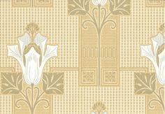 Art Nouveau wallpaper - Chameleon Collection