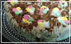 Blood Vow: Bitty's Mint & Chocolate Ice-Cream Cake – The Taste of Tales