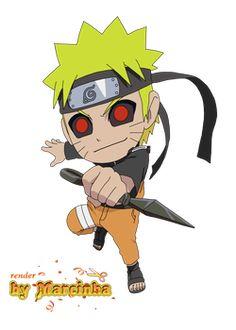Render Chibi Dark Naruto by Naruto Grown Up, Naruto Comic, Naruto Cute, Naruto Kakashi, Anime Naruto, Anime Chibi, Kawaii Anime, Boruto, Naruto Tattoo