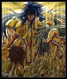 Saint Seiya TLC Aspros saves Dohko and Shion Comic Movies, Comic Games, Hades, Thundercats, Constellation, Anime Guys, Manga Anime, Aquarius, Cosmos