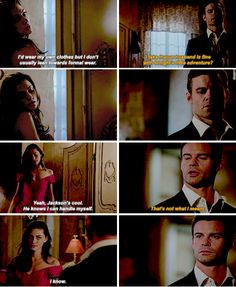 "#TheOriginals 3x04 ""A Walk on the Wild Side"" - Hayley and Elijah"