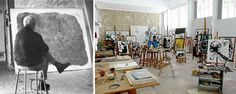 Joan Miro  - '100 Famous Artists & Their Studios'