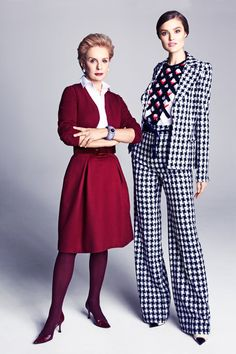 """Carolina Herrera  #fashionable #Quote """"A bold print attracts attention and is perfect for a work environment—and it transitions into evening."""""""