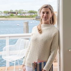 Designed in the late 1960's for Nantucket Looms, our classic boatneck sweater…