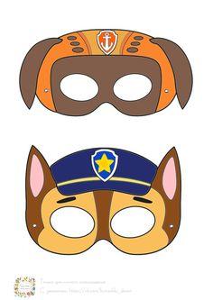 Paw Patrol Masks, Zuma Paw Patrol, Paw Patrol Birthday Theme, Paw Patrol Party, 4 Yr Old Crafts, Escudo Paw Patrol, Paw Patrol Decorations, Funny Cartoons