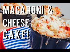 ▶ How To Cake... A MACARONI AND CHEESE CAKE! Orange velvet cake and cream cheese frosting! #Cakes #Baking #Dessert