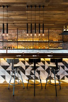 restaurant bar design ideas the pacific bar restaurant bar design awards sports bar and grill design ideas Bar Interior Design, Restaurant Interior Design, Cafe Interior, Interior Modern, Cafe Design, Modern Furniture, Farmhouse Interior, Interior Decorating, Cocktail Bar Interior