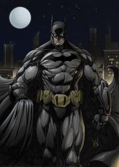 Batman by cowboyfromhell0